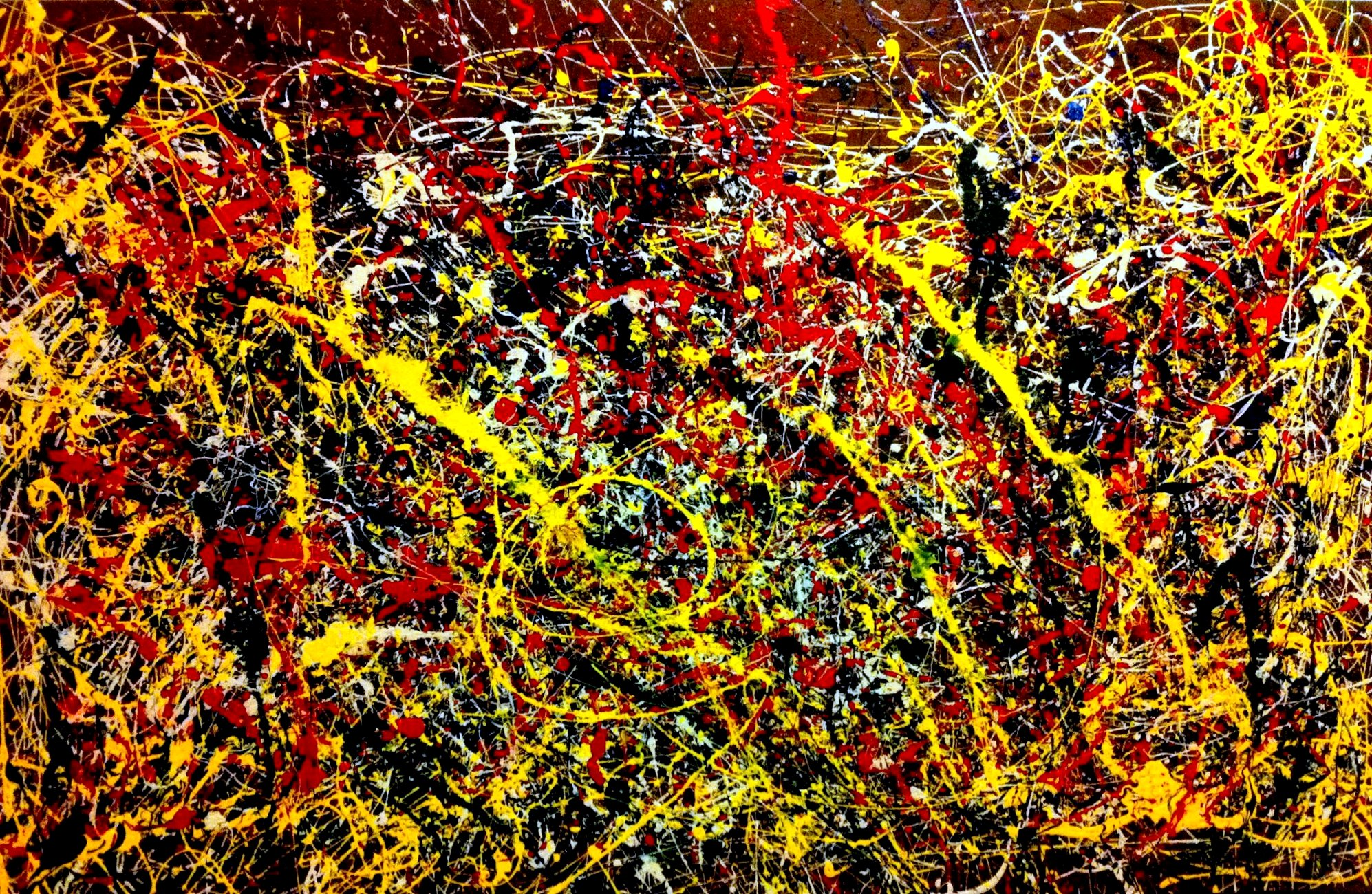 Google images for Mural jackson pollock